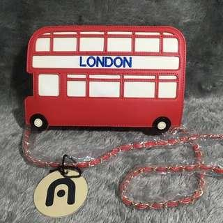 Nila Anthony London Bus Bag Tas Bis Merah