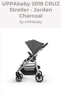 UPPABABY Cruz Stroller (Brand New, in Box never opened)