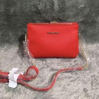 Les Catino Red Cherry Bag Tas Merah Sling Bag