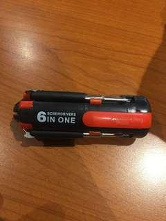 🚚 6合1攜帶型工具(可小議