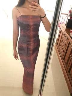 square tube dress