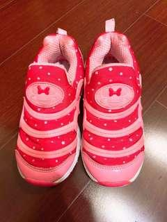 🚚 二手🎈女童米妮粉色運動鞋 19.5號