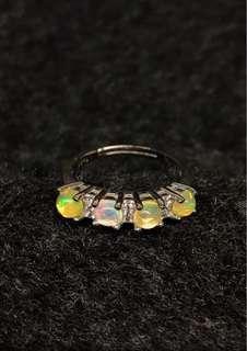 925 Opal ring
