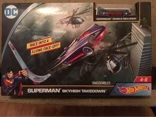 Hot Wheels Superman Skyhigh Takedown