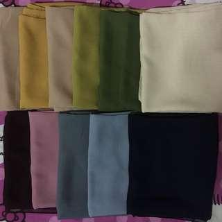 Pasmina bahan Polly Cotton