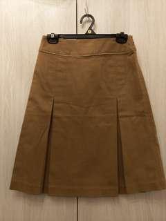🚚 Single noble獨身貴族咖啡色裙子半身裙