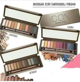 😍 SAVE $22!! WOW CRAZY $4.95 SALE!!! WOW AFFORDABLE 12 MULTI COLORS  EYESHADOW PALETTE】 LETS PLAY WITH COLORS -CREATE DIFFERENT MAKEUP THEMES EVERYDAY!!! 💛 Icon Multi Eyeshadow Palette (TWILIGHT) BNIB