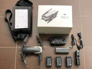 Ridiculously Priced: DJI Mavic Air Flymore Combo Flew once only locally with Warranty