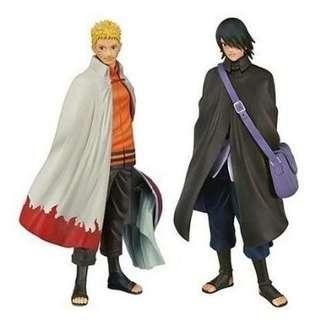 Action figure naruto & sasuke