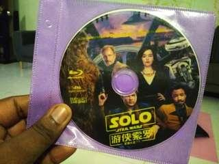 Star wars solo bluray blu-ray