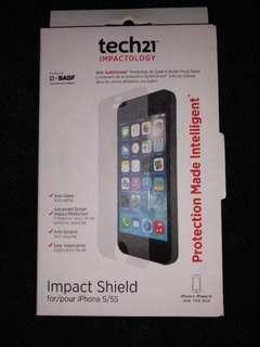 💯% NEW Tech21 Impact Shield Screen Protector for iPhone