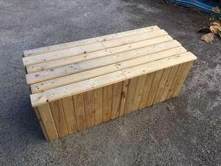Kerusi Pelamin Kayu / Wooden Bench / Bangku Kayu