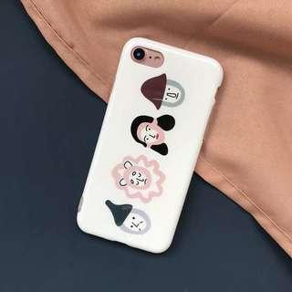 [PO] cute illustrations iphone soft case