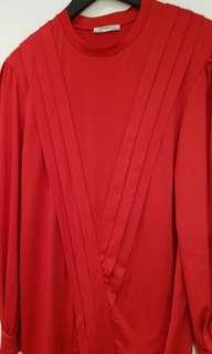 Zara Red Dress NWT (bought in the US removed tag)
