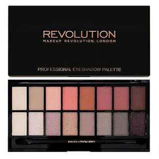 🚚 二手Makeup revolution Newtrals vs neutrals 16色眼影盤