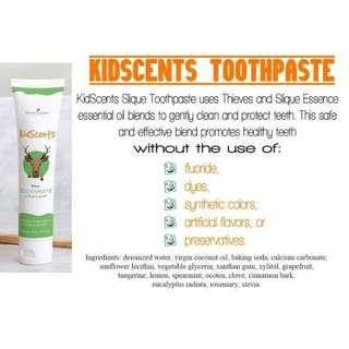 Youngliving kidscents toothpaste