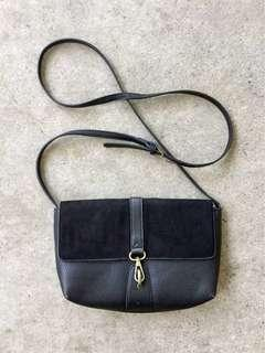 Synthetic Leather Sling Bag