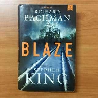 Blaze by Richard Bachmann and Stephen King