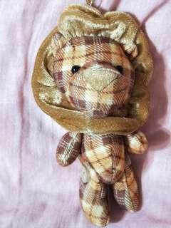🚚 金安德森玩偶 格紋獅子 娃娃