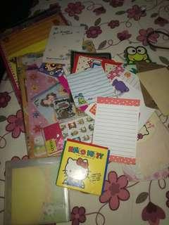 Assorted stationeries. For kids! Free!