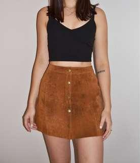 H&M snap skirt