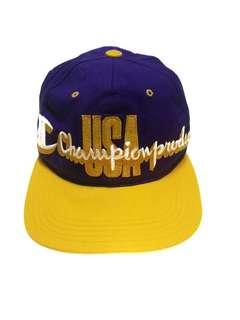 Cap Champion sulam LA Lakers colourways tribute