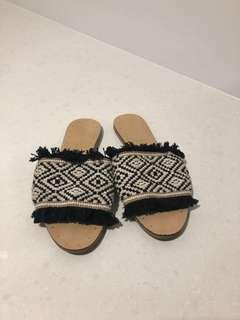 Country Road Slides/Sandals