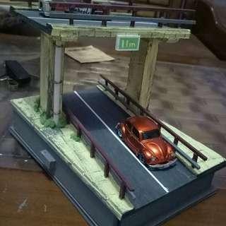 Diorama by pass skala 1/64