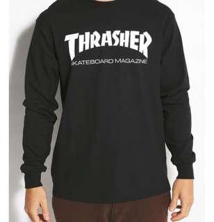 Black Thrashers long sleeve