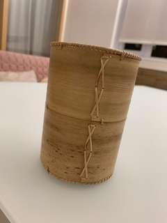 真竹 筆筒