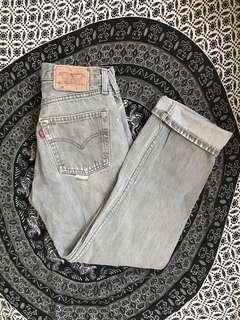 Vintage Ripped Levis
