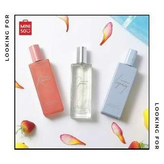 LOOKING FOR: Miniso Perfumes