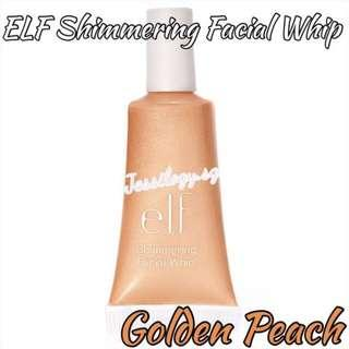 INSTOCK ELF Shimmering Facial Whip - GOLDEN PEACH / e.l.f. Cosmetics Shimmering Facial Whip in GOLDEN PEACH