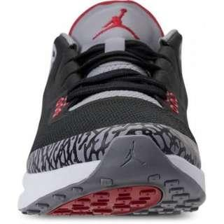 Jordan tenacity running shoes black cement low