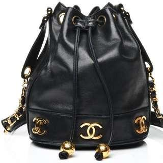 Chanel Bucket Bag - item on hold / @ spa