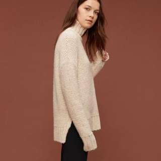 Aritzia The Group Plumwood Sweater sz. S