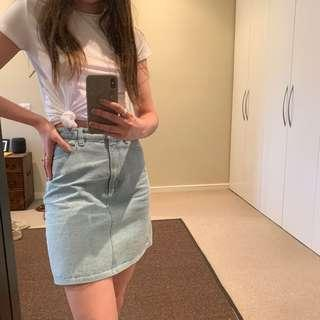 Kookai denim skirt
