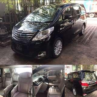 Toyota Alphard 2.4 G (with moon roof) Auto