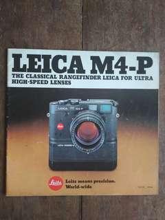 Leica M4 -P brochure
