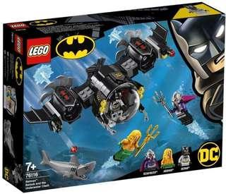 LEGO 76116: DC Batman Batsub and the Underwater Clash (Excluding minifigures)