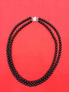 黑珊瑚雙層項鍊