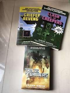 Adventure and novel Books