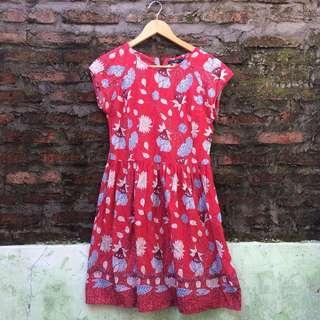 Fame Batik Dress