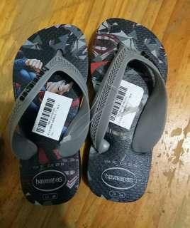 Brandnew Havaianas DC slippers