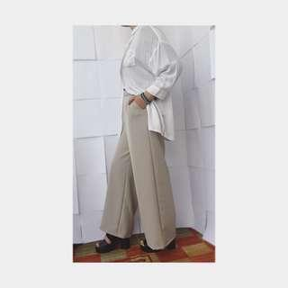 Culotte Pants available navy & beige