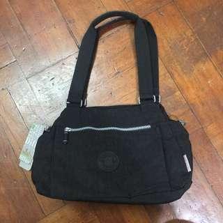 全新黑色多格實用袋
