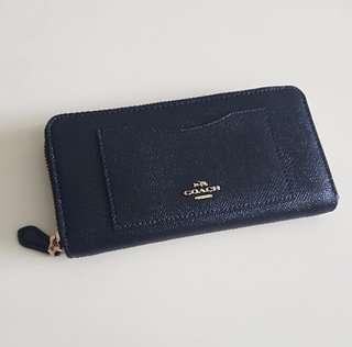 Coach Leather Wallet F54007