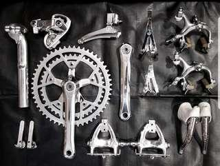 Vintage Campagnolo Victory Groupset