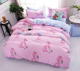 005 Pink Panther Bedsheet Set