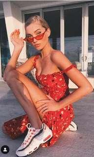 Red Juliet Dress